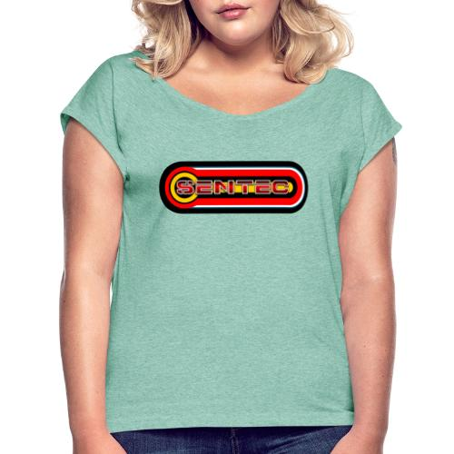 LOGO SENTEC - Camiseta con manga enrollada mujer