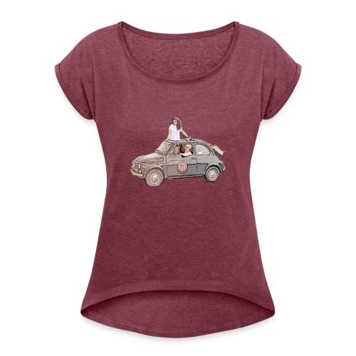Ma Titine 500 - T-shirt à manches retroussées Femme