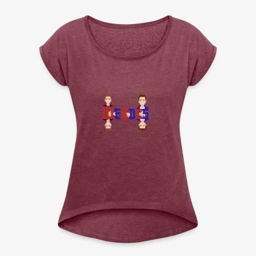 Webdis - T-shirt à manches retroussées Femme