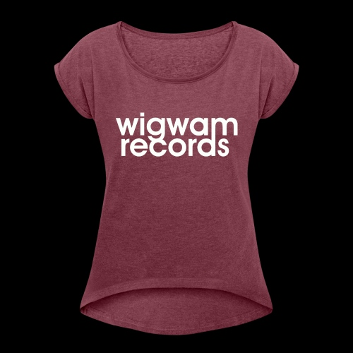 LOGO wigwam - T-shirt à manches retroussées Femme