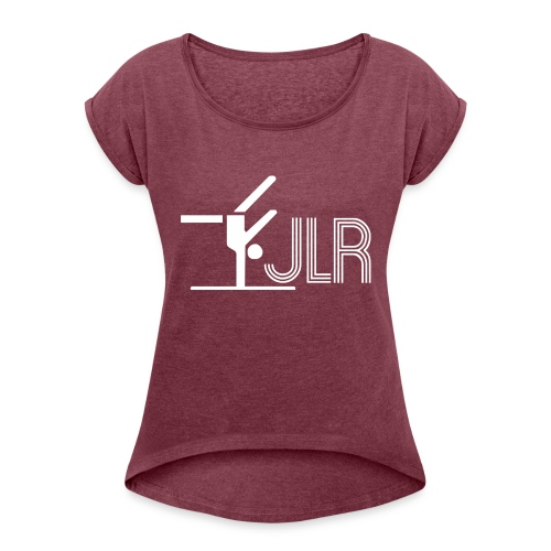 JLR - Women's T-Shirt with rolled up sleeves