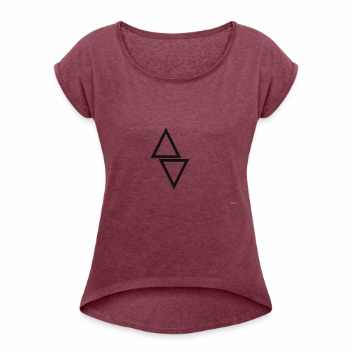 THE TDEC - Women's T-Shirt with rolled up sleeves