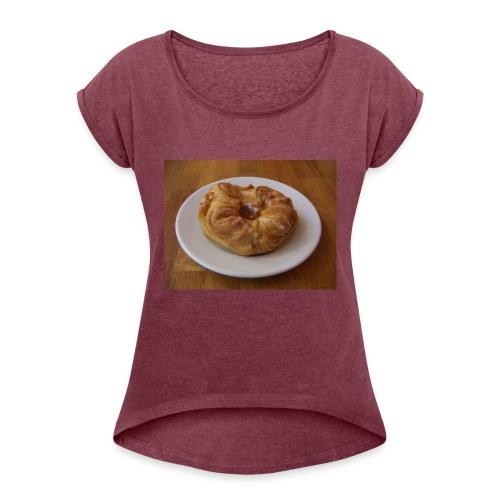 inte mandelkubb - T-shirt med upprullade ärmar dam