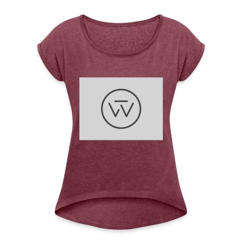 Wolfit - T-shirt à manches retroussées Femme