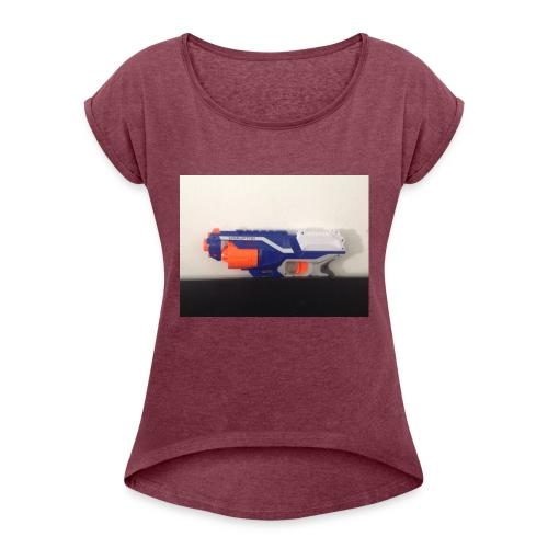 Cooler Kai - Frauen T-Shirt mit gerollten Ärmeln