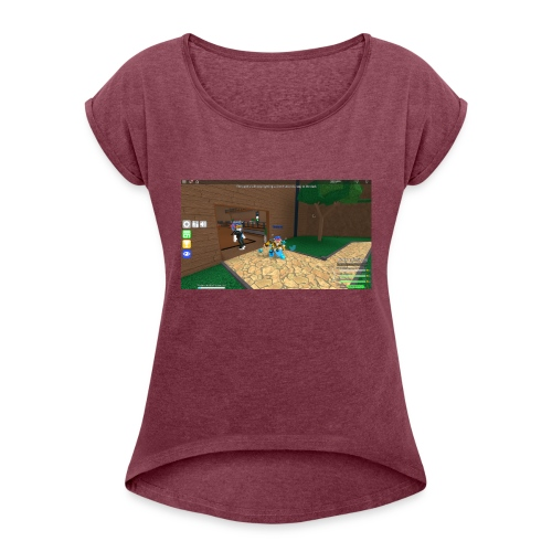 PREMIUM LIMITED! 200 FOR Sale - Dame T-shirt med rulleærmer