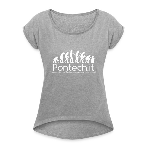 Pontech.it - Maglietta da donna con risvolti