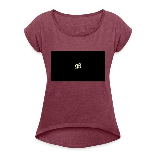 Game Boy NL - Vrouwen T-shirt met opgerolde mouwen