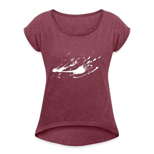 embrioni - Maglietta da donna con risvolti