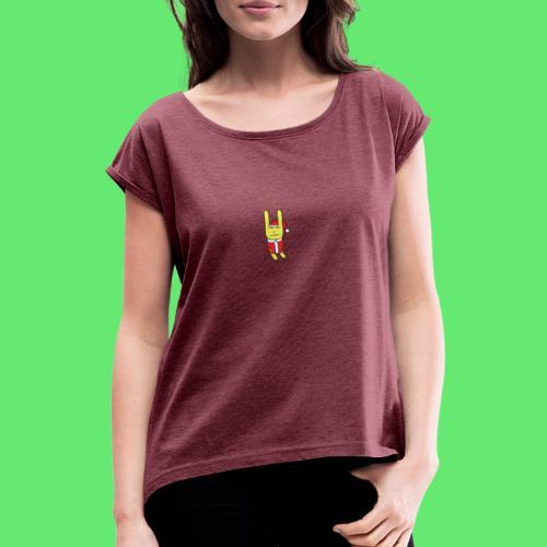 Fun Christmas - T-shirt à manches retroussées Femme