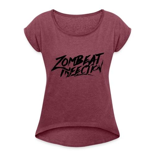 T-shirt Classic BlackLogo - T-shirt à manches retroussées Femme