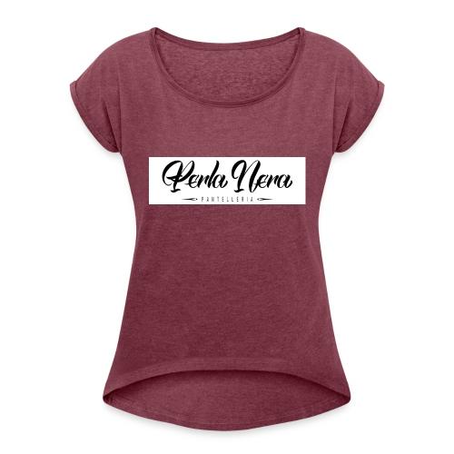 Perla Nera Pantelleria - Maglietta da donna con risvolti