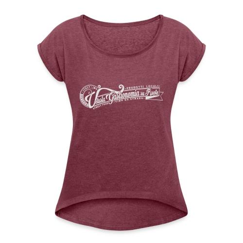 la_vetusta_GRAFICA_T_SHIRT_LOGO - Maglietta da donna con risvolti