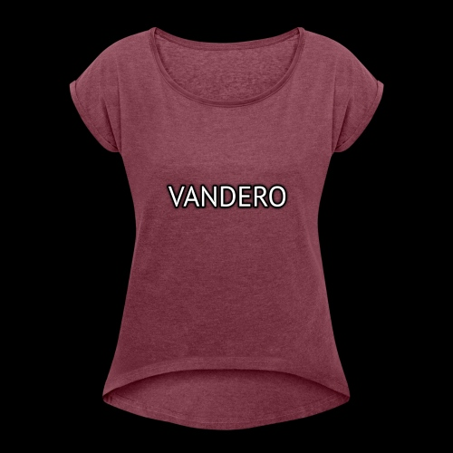 Vandero Shadow - Women's T-Shirt with rolled up sleeves