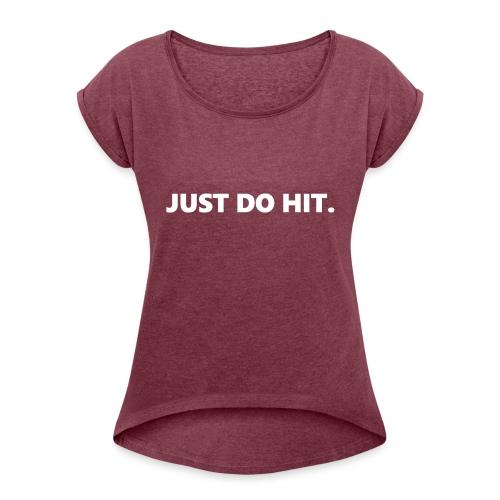 JUST DO HIT. - Maglietta da donna con risvolti