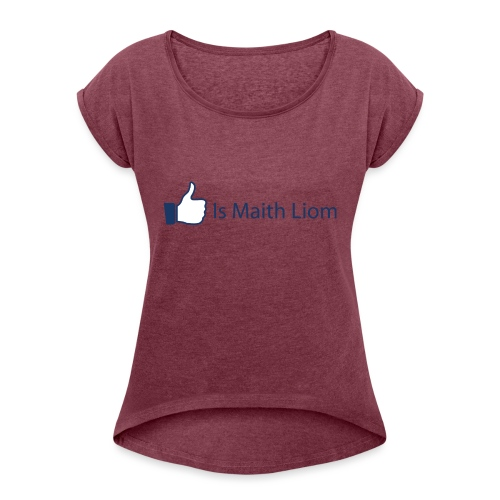 like nobg - Women's T-Shirt with rolled up sleeves