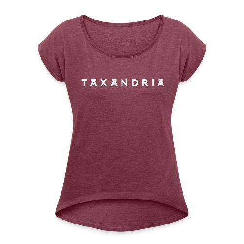 Taxandria Original - Vrouwen T-shirt met opgerolde mouwen