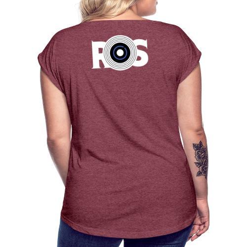 Collection 1 R.O.S Events - T-shirt à manches retroussées Femme