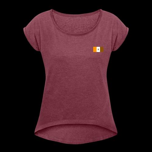 Nibba Squad origins - Dame T-shirt med rulleærmer