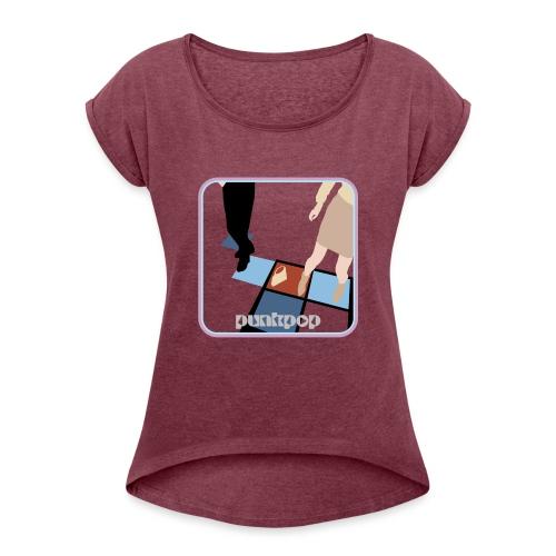 Pulp Disco PunkPop - Maglietta da donna con risvolti