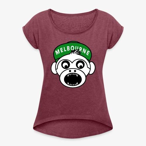 Melbourne - T-shirt à manches retroussées Femme