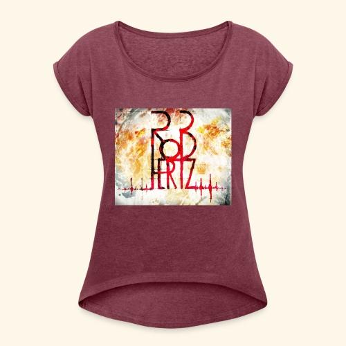 RoBhertz Design - T-shirt à manches retroussées Femme