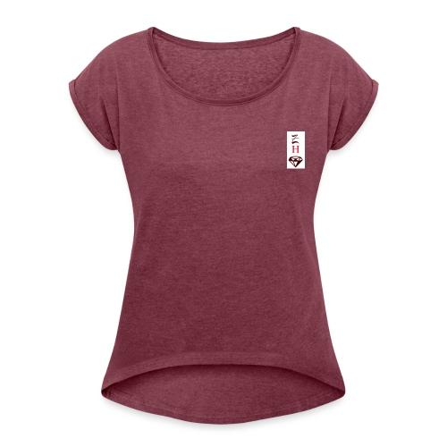 good choice - T-shirt à manches retroussées Femme