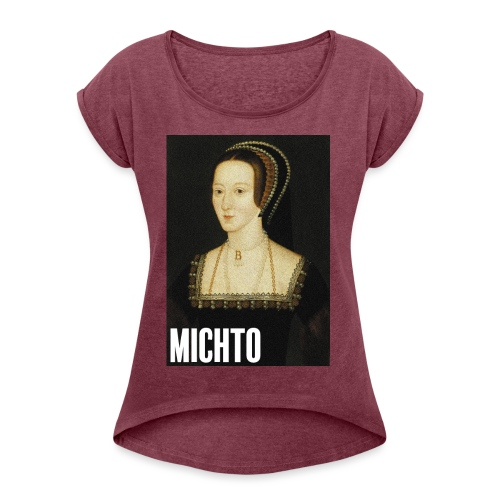 Anne Boleyn - T-shirt à manches retroussées Femme
