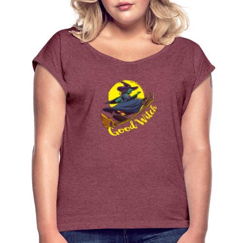 Good Witch Outfit für Hexen im Kessel brauen - Frauen T-Shirt mit gerollten Ärmeln