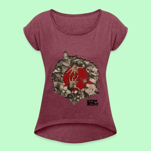 Sauvage - T-shirt à manches retroussées Femme
