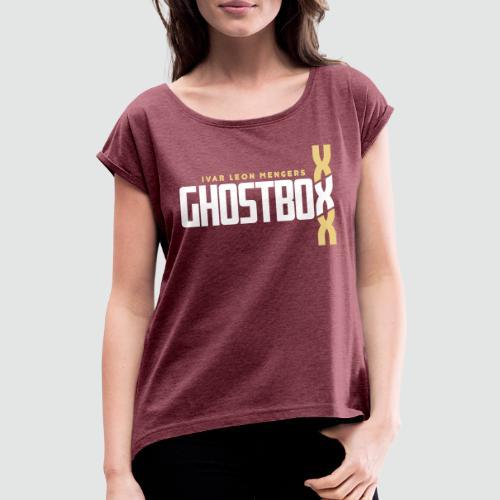 Ghostbox DNA Hörspiel Staffel 2 - Frauen T-Shirt mit gerollten Ärmeln