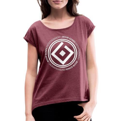 BOUR GONDI - 02 - T-shirt à manches retroussées Femme