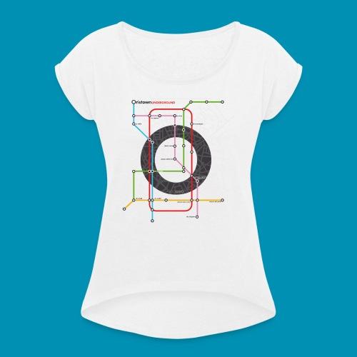 Underground Oristano 2020 - Maglietta da donna con risvolti