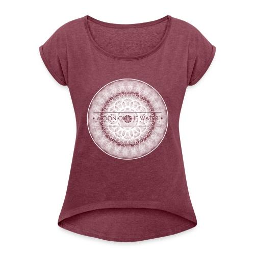 MOTW3 - T-shirt à manches retroussées Femme