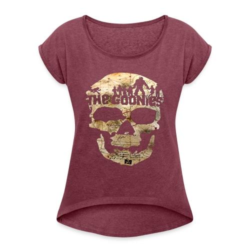 THE GOONIES 2 - Maglietta da donna con risvolti
