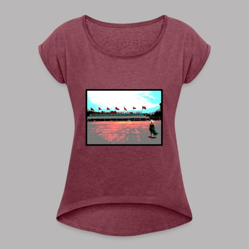 Ho Chi Minh - Women's T-Shirt with rolled up sleeves