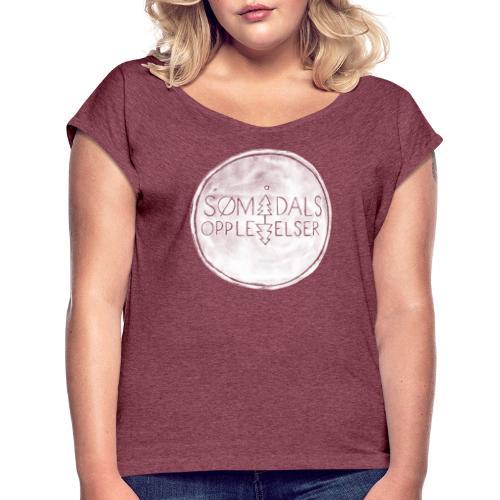 Sømådalsopplevelser - T-skjorte med rulleermer for kvinner