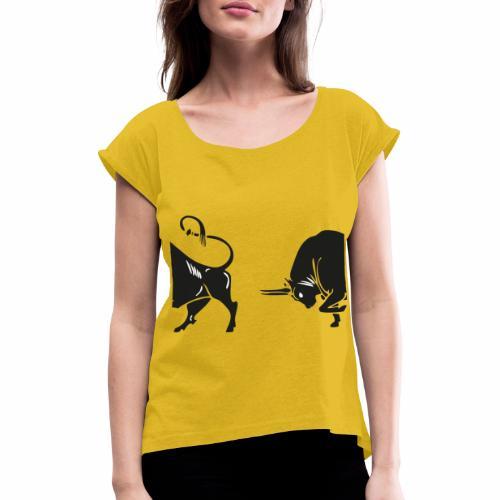 TORO - BULL - Maglietta da donna con risvolti