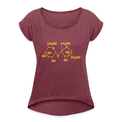 Sugar - Women's T-Shirt with rolled up sleeves