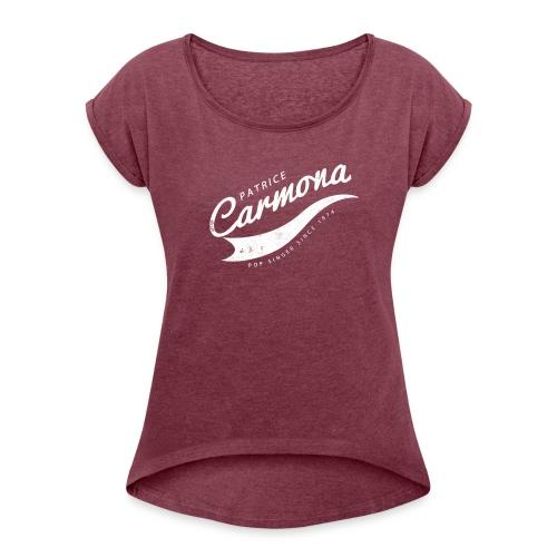 Since 1974 - T-shirt à manches retroussées Femme