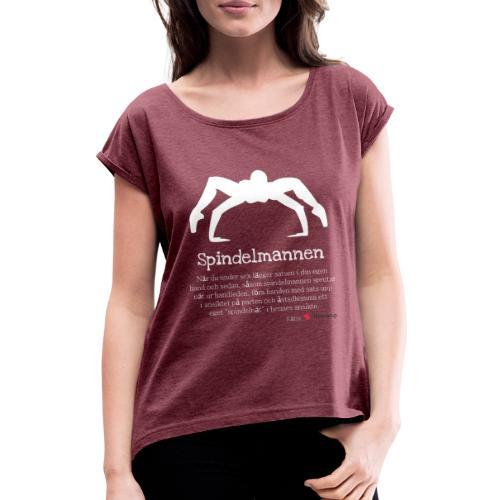 Spindelmannen - T-shirt med upprullade ärmar dam