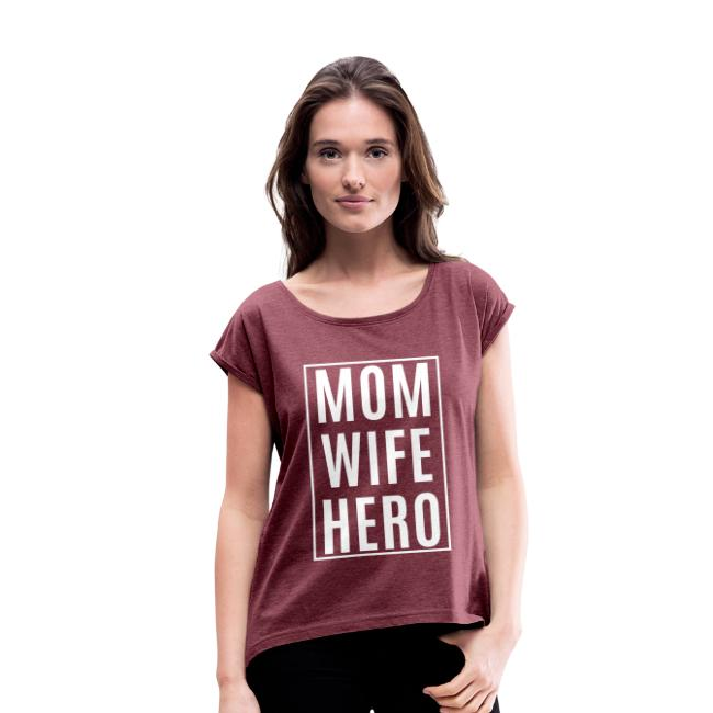 Mom-Wife-Hero Weiß