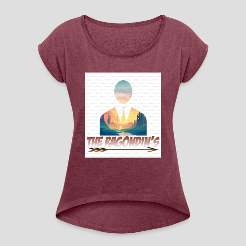05A4C781 B294 42C4 A16F 6AAA6C4595D0 - T-shirt à manches retroussées Femme