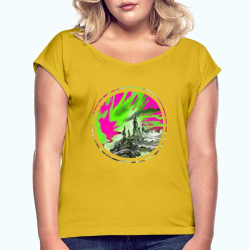 Fantasy world - Women's T-Shirt with rolled up sleeves