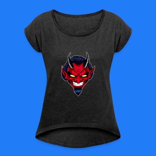 DEMON HEAD by Agill - T-shirt à manches retroussées Femme