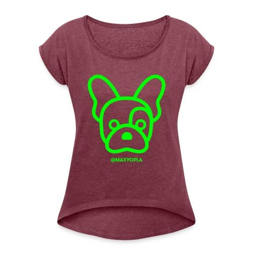 Pet - T-shirt à manches retroussées Femme