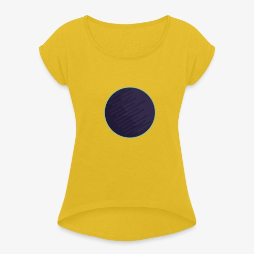 Planneet - Vrouwen T-shirt met opgerolde mouwen