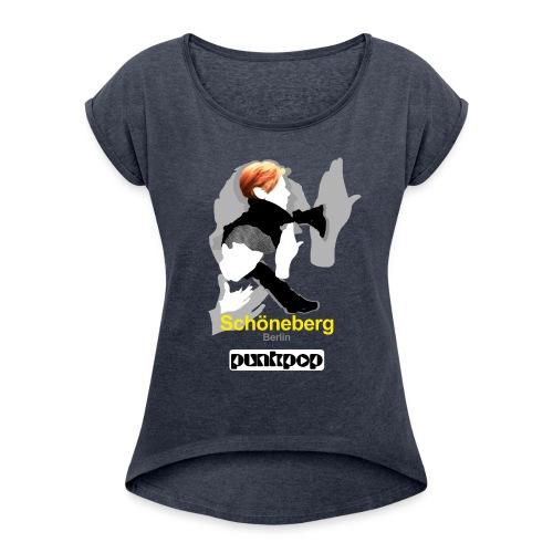 Schöneberg Punkpop - Maglietta da donna con risvolti
