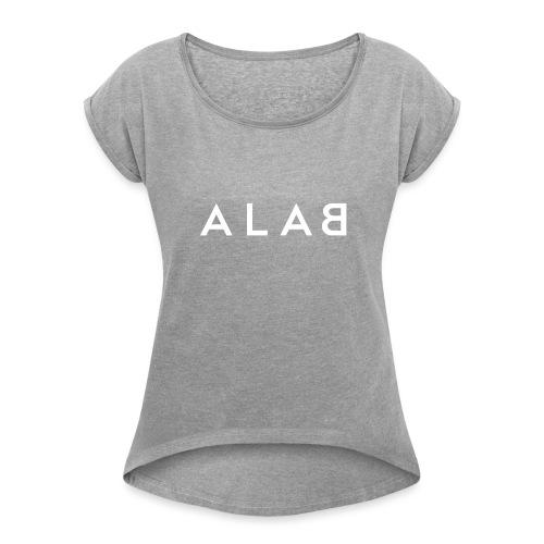 ALAB - Maglietta da donna con risvolti