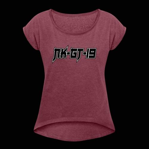 NKGT - T-shirt à manches retroussées Femme